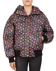 The Kooples - Printed Down Puffer Jacket